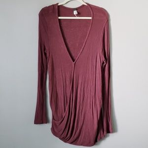 We The Free Free People Oversized Bubble Blouse